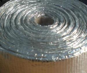 Praf de azbest bandă cu aluminiu
