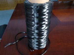 Spun Carbonized fiber yarn